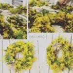 【講座レポ】 3月 hanamama 春を告げる花ミモザレッスン